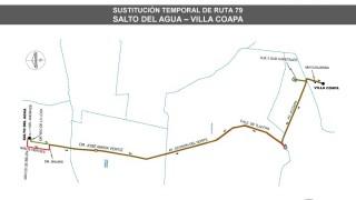 "Sistema M1 sustituye servicio en ruta ""Villa Coapa-Salto del Agua"""