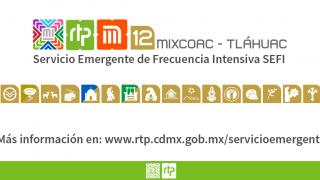 RTP brinda Servicio Emergente en la Línea 12 del Metro.